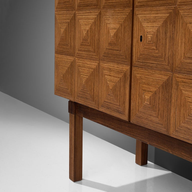 Franz Meyer Highboard in Rosewood For Sale 2