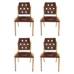 Franz Schuster Chairs Set of Four, Austria, 1950s