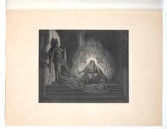Kirchenrauber - Héliogravure by Franz von Bayros - 20th Century