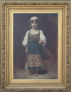 Large Early Portrait of a Young Girl