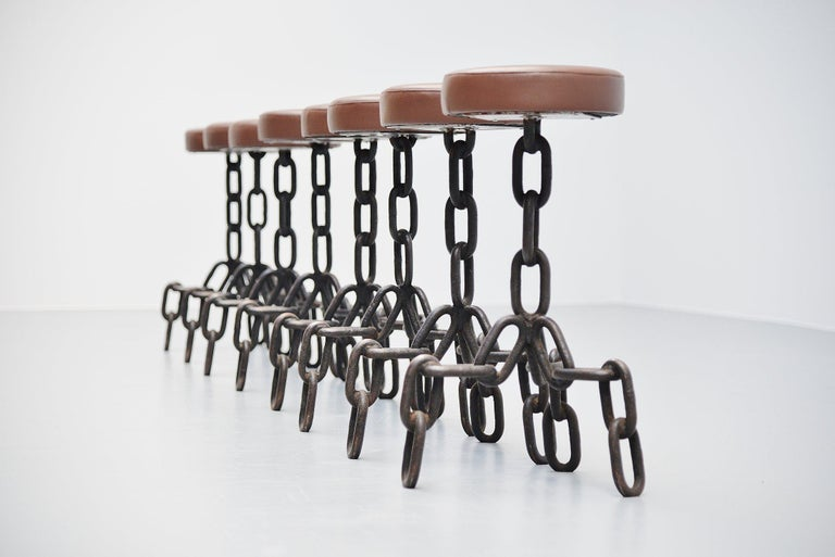 Dutch Franz West Style Brutalist Stools, Holland, 1970 For Sale