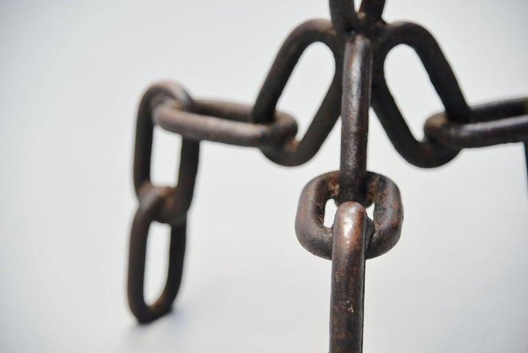 Franz West Style Brutalist Stools, Holland, 1970 For Sale 1