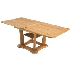 Franz Xaver Sproll Extendable Dining Table in Elm