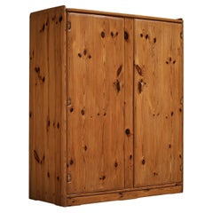 Franz Xaver Sproll Hand-Crafted Wardrobe in Solid Pine