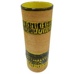 Fratelli Fanciullacci Bitossi Midcentury Italian Modern Pottery Vase Londi, 1960