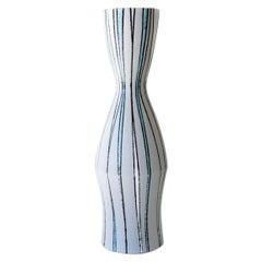 Fratelli Fanciullacci Striped Vase for Ebeling Reuss