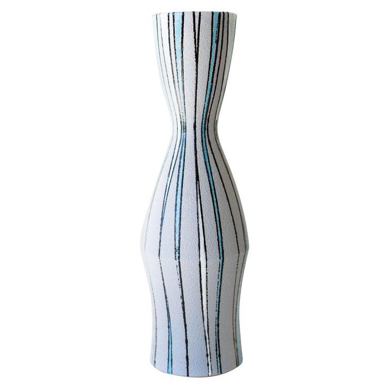 Fratelli Fanciullacci Striped Vase for Ebeling Reuss For Sale