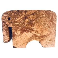 Fratelli Mannelli Travertine Elephant