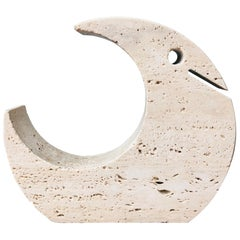 Fratelli Mannelli Travertine Sculpture, Italy, 1970s