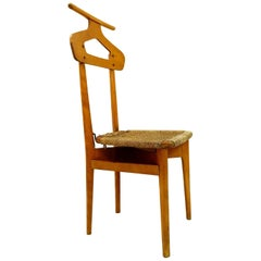 Fratelli Reguitti Valet Chair in Oak, Ico Parisi, 1950s