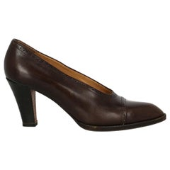 Fratelli Rossetti Woman Pumps Brown Leather IT 38.5