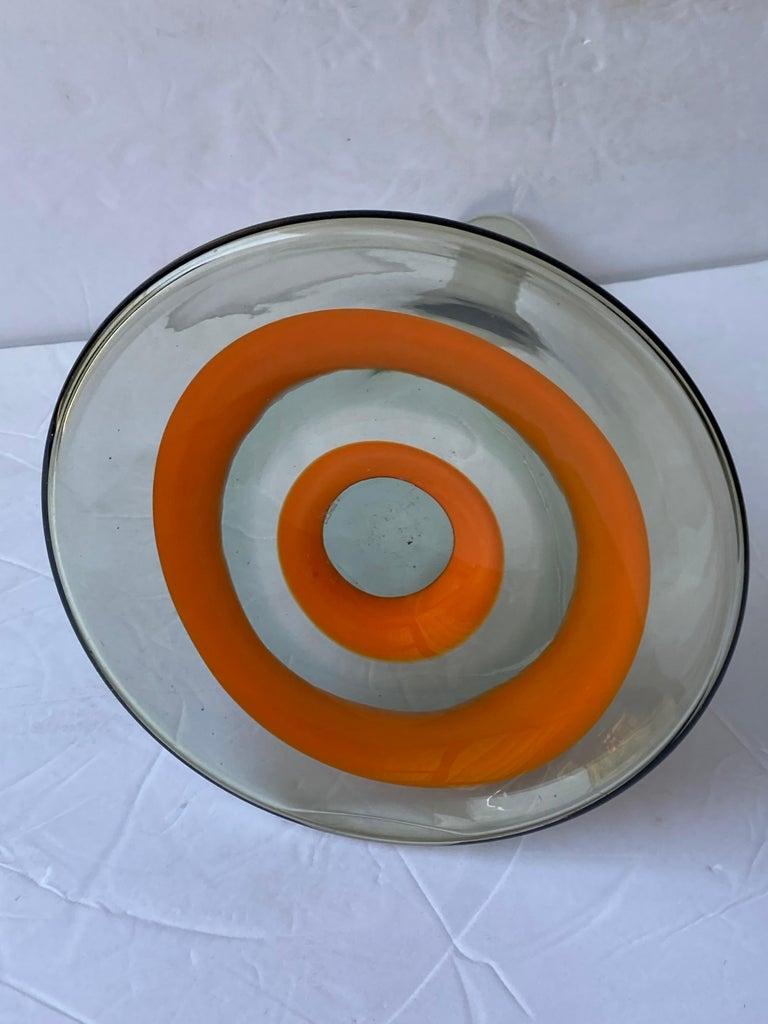 Italian Fratelli Toso Rare Murano Glass