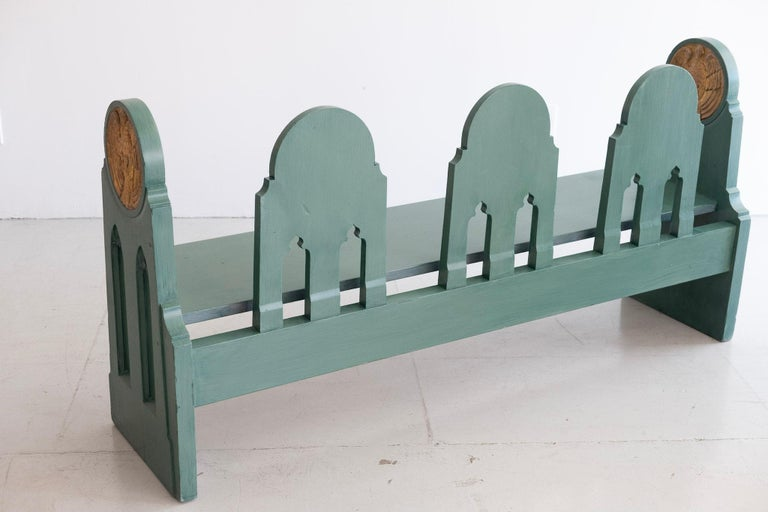 Fraternal Lodge Bench, circa 1930s For Sale 6