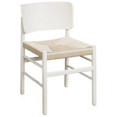 Fratina 680 White Chair by Emilio Nanni