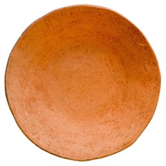 Freckles Terracotta Small Plate Made of Clay, Handcrafted by the Potter Raja