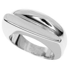 Fred 18 Karat White Gold Success Ring Small Model