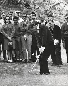 Arnold Palmer Golfing Fine Art Print