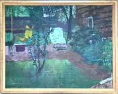 Untitled (Suburban Backyard)