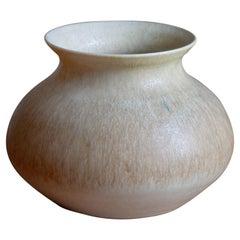 Fred Forslund, Small Vase, Glazed Stoneware, Artists Studio, Sweden, 1978