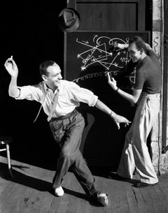 Fred Astaire Planning Dance Moves II Fine Art Print
