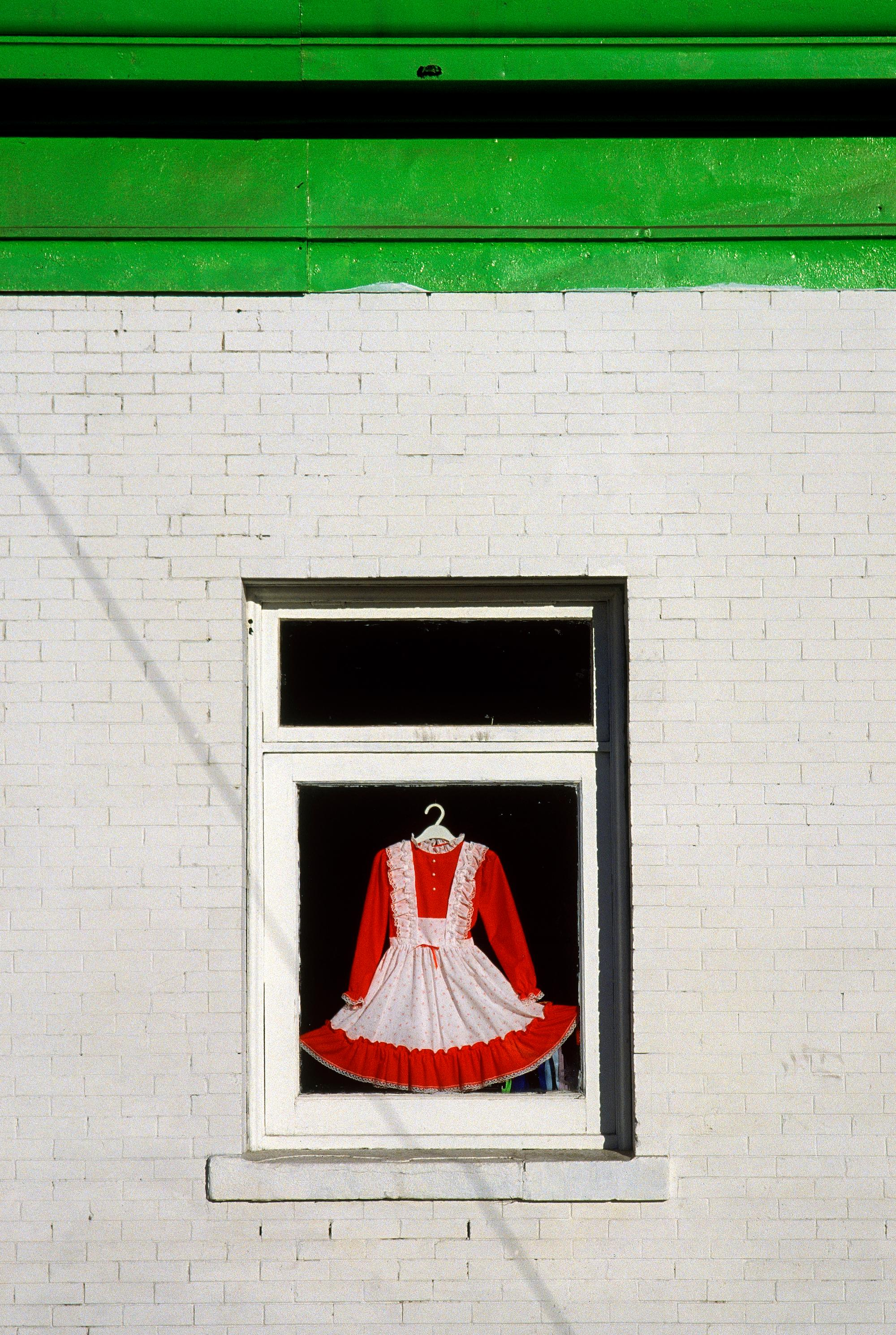 Dress in Window