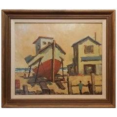 Fred Korburg Nautical Painting