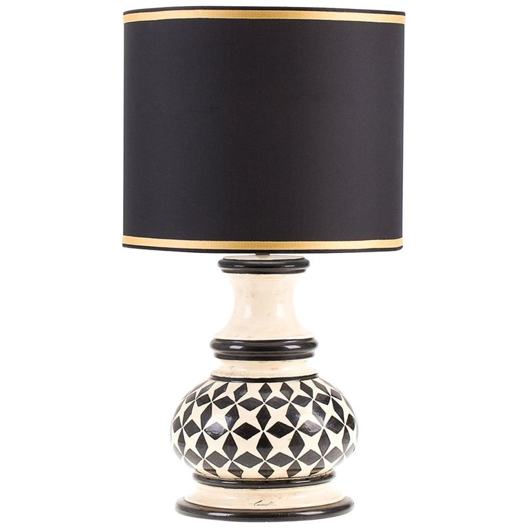 Fred Lamp with Black Stars by Ceccarelli For Sale
