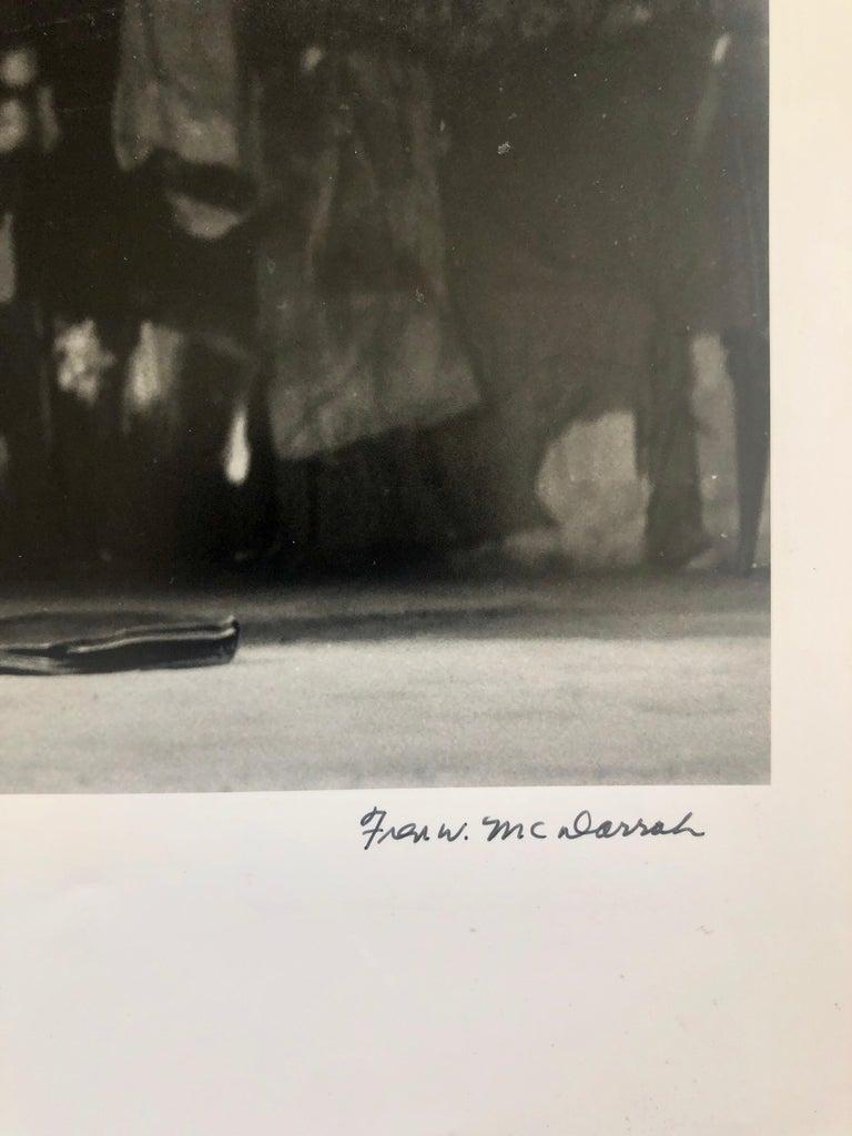 Vintage Print Silver Gelatin Signed Photograph Poet Allen Ginsberg Howl Photo For Sale 1