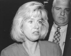 Vintage Silver Gelatin Photograph Tipper Gore, Democratic Fundraiser 1992 Photo