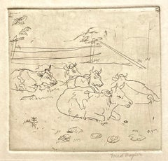 (Cows in a Pasture, small version)