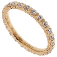 Fred of Paris Diamond Eternity Rose Gold Ring
