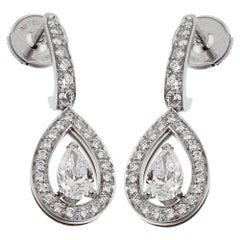 Fred of Paris Lovelight Diamond Drop Earrings
