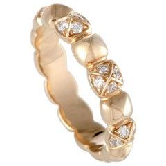 Fred of Paris Pain De Sucre Célébration Rose Gold Diamond Band Ring