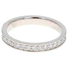 Fred of Paris Platinum Diamond Alliances Eternity Ring