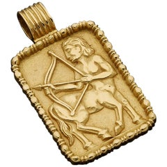 Fred of Paris Sagittarius Zodiac Pendant