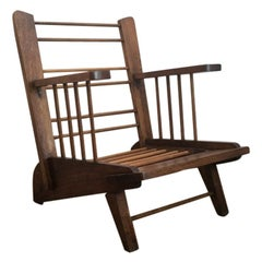 Fred Ward Wing-Back Chair Patterncraft No.7 in Mountain Ash, Melbourne, 1948