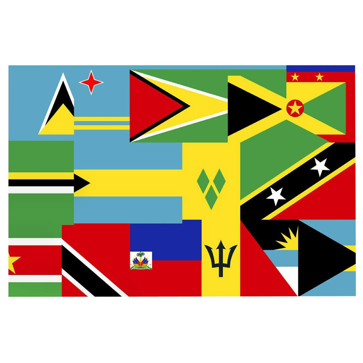 Fred Wilson: Untitled: Antilles Limited Edition Print