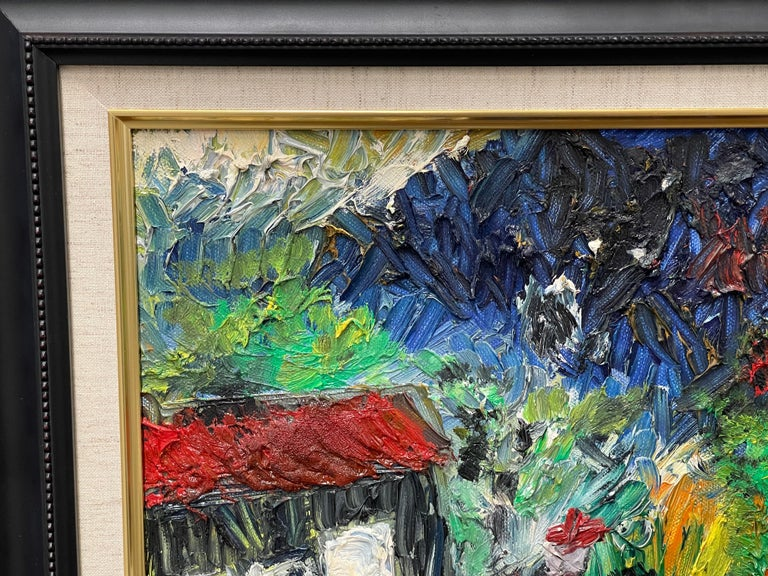 English Fred Yates Abstract 1998 For Sale