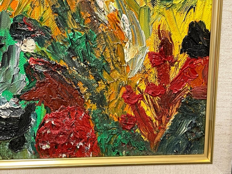 Paint Fred Yates Abstract 1998 For Sale