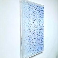 Farbenlichthaut no. 135 - contemporary modern organic sculpture painting relief