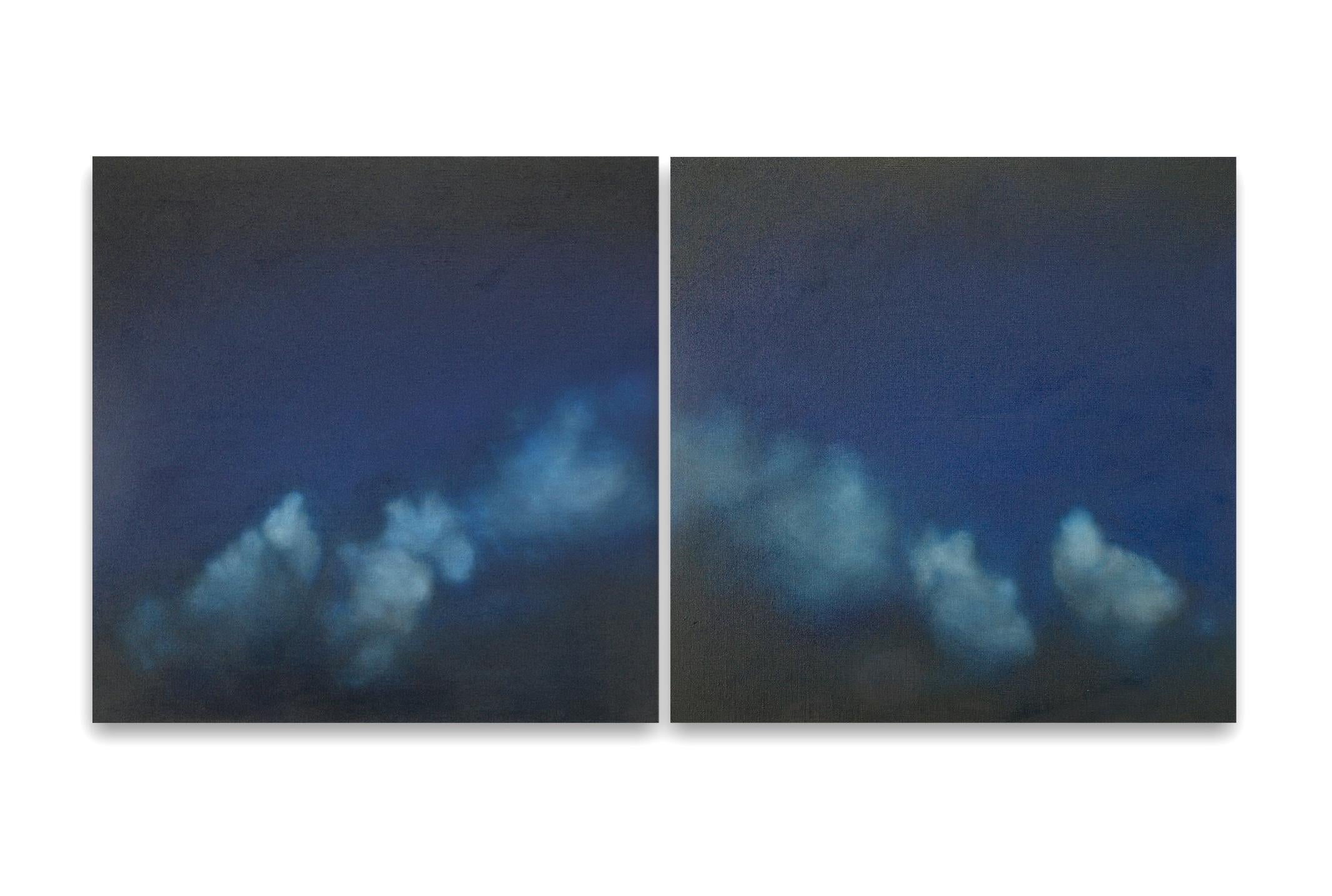 Promesse I & II / Diptych - Oil on Linen