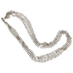 Frederic Duclos Sterling Necklace