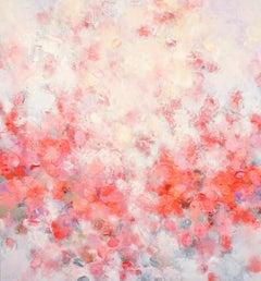 Elegance - abstract art, contemporary art, modern, roses, Nature, landscape