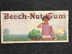 Frederic Stanley Beech-Nut Gum Painting