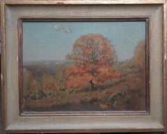 American Artist Frederick Ballard Williams Fall Landscape Oil Painting NY NJ
