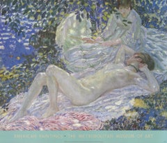 "FREDERICK CARL FRIESEKE Summer 30"" x 35"" museum poster Impressionism Pastel"