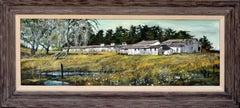 Landscape of Egg Barns in Bonny Doon, California