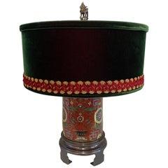 Frederick Cooper Cloisonné Lamp