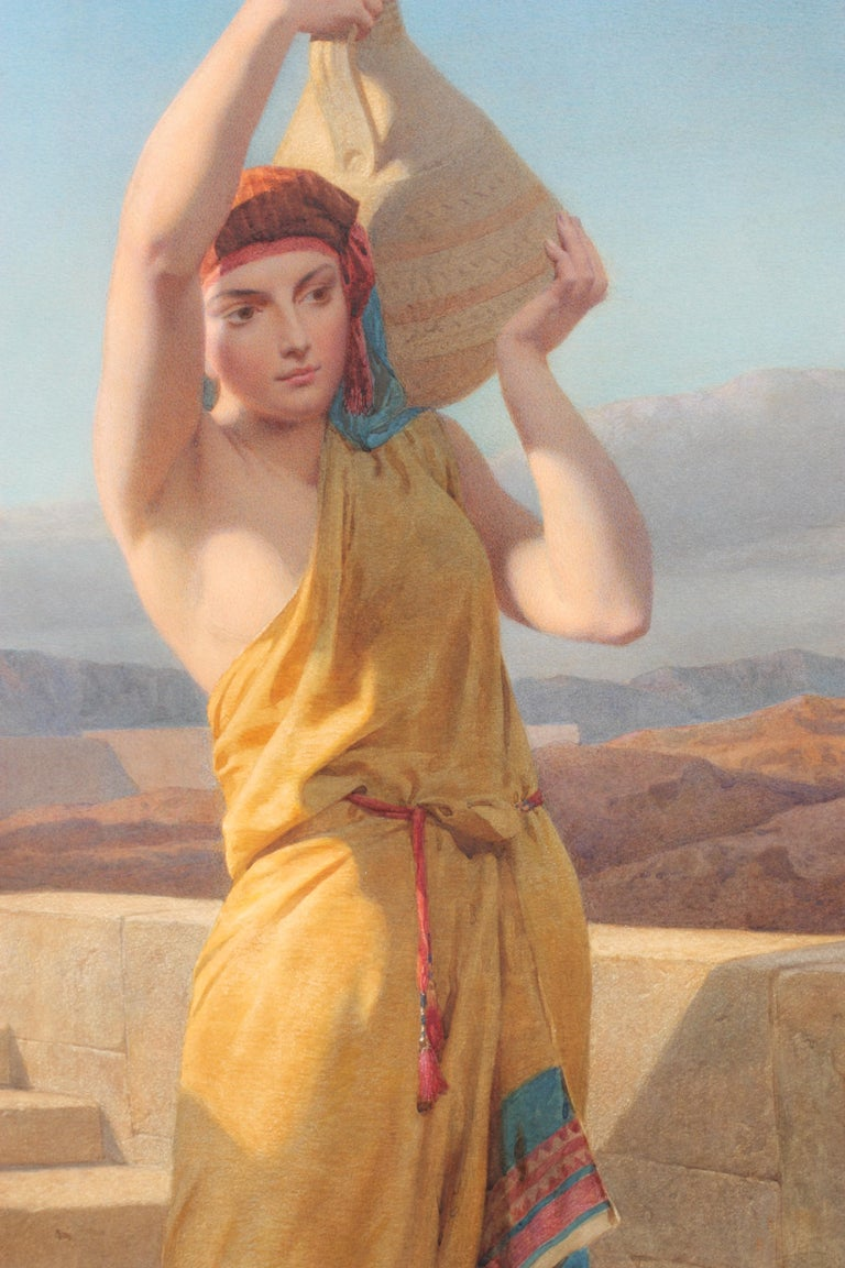 Canvas Frederick Goodall