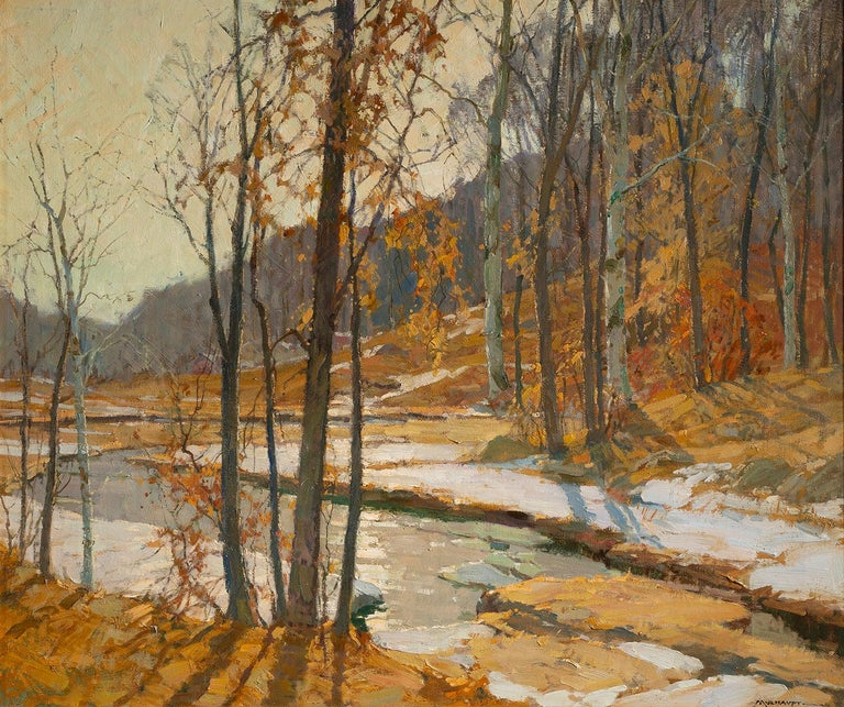 Frederick J. Mulhaupt Landscape Painting - Autumn Landscape
